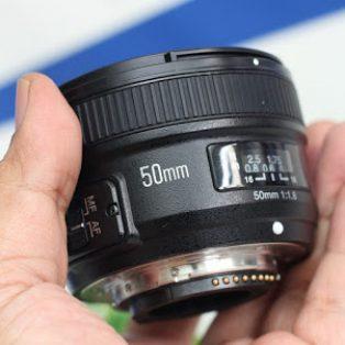 Jual Lensa Fix 50mm AFS Nikon – Yn-Yongnuo 50mm di Malang
