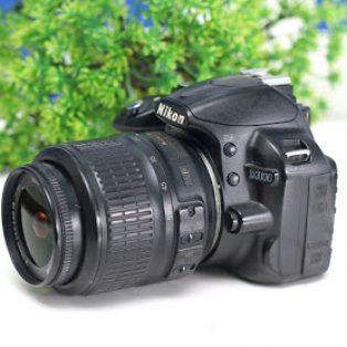 Jual Nikon D3200 DSLR Bekas Lensa Nikon 18-55mm