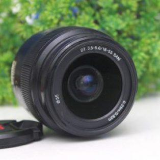 Lensa Kit Sony 18-55mm SAM Bekas