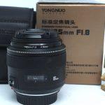 Jual Lensa Yongnuo 85mm f1,8 for Canon