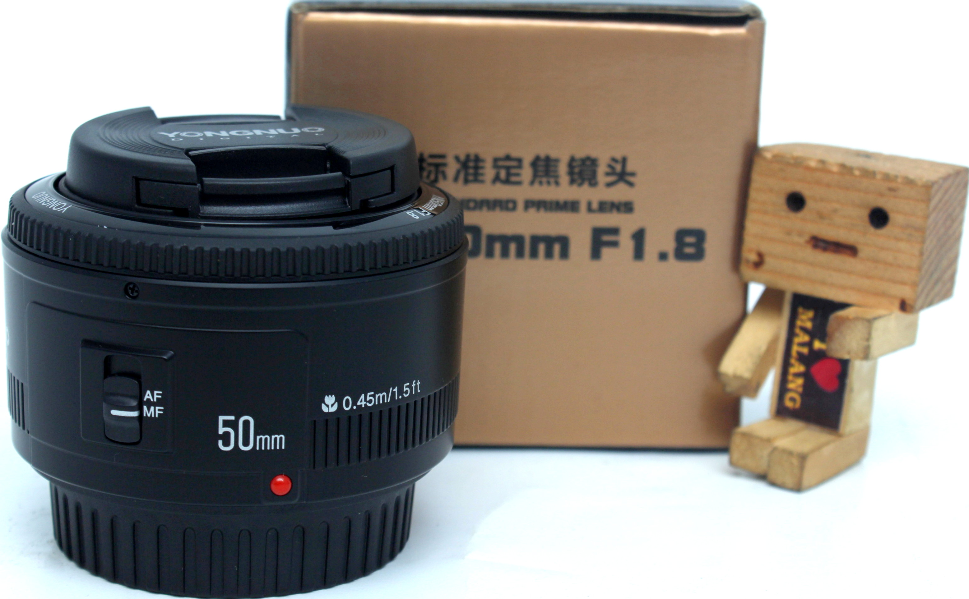 Jual Lensa YONGNUO 50mm F18 For Canon Baru