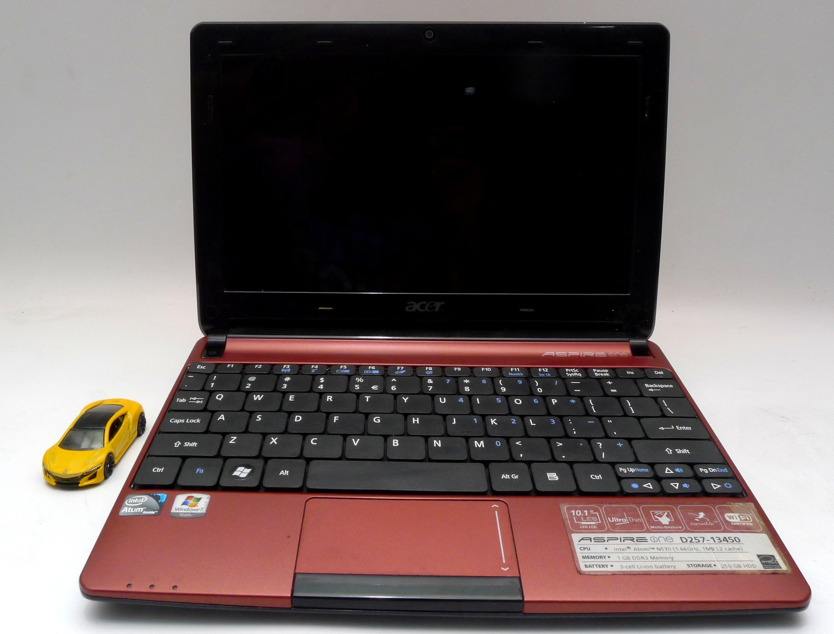 Jual Acer Aspire One D257 Bekas