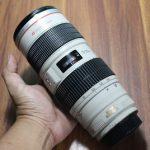 Jual Lensa Canon 70-200mm f2.8 IS USM ( Bekas )